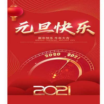 山东三江医疗科技有限公司祝大家元旦快乐